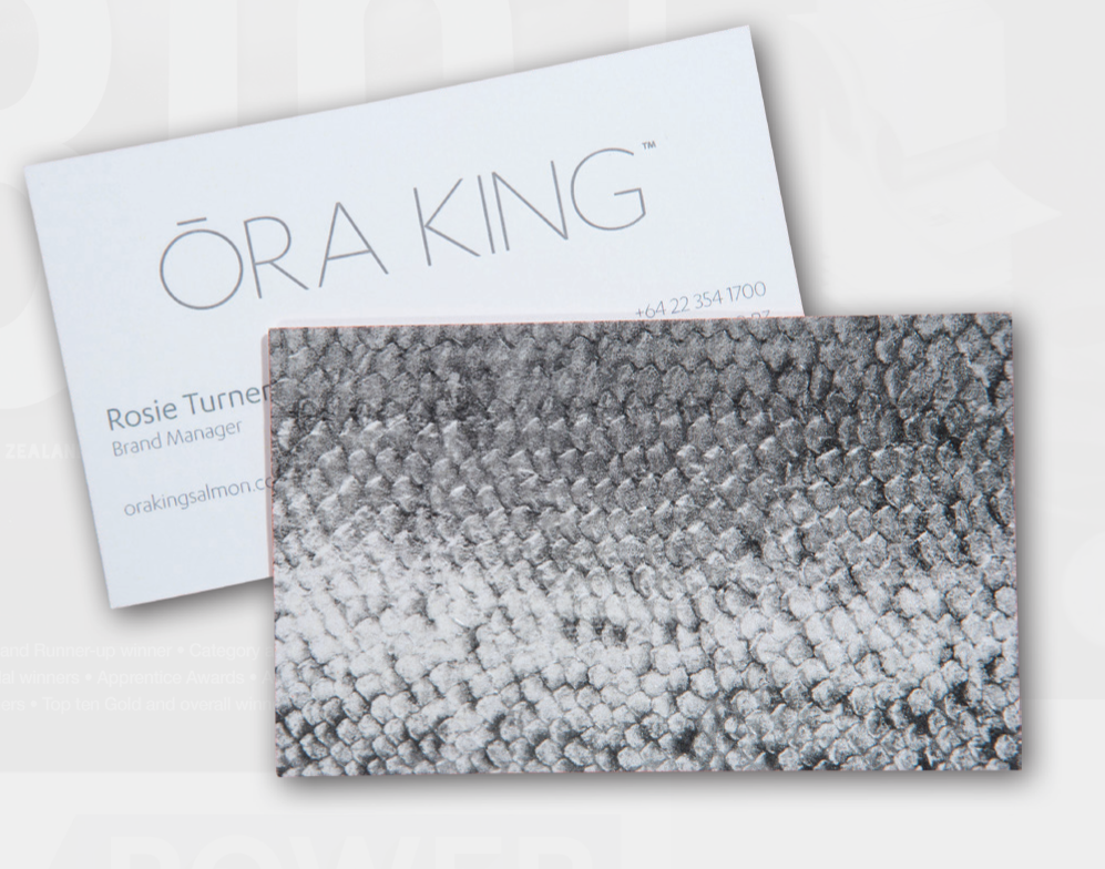 ora king business cards